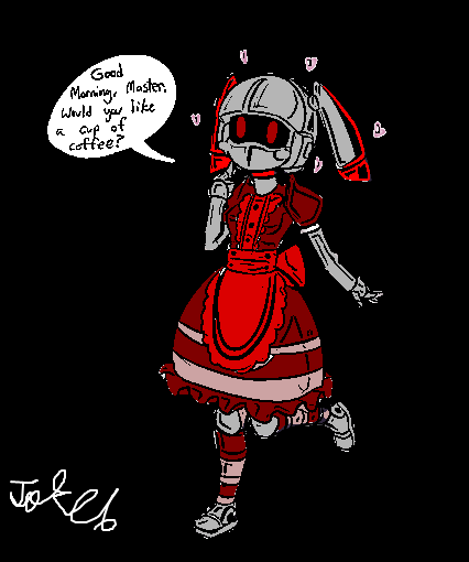 Glitch Maid *reskin