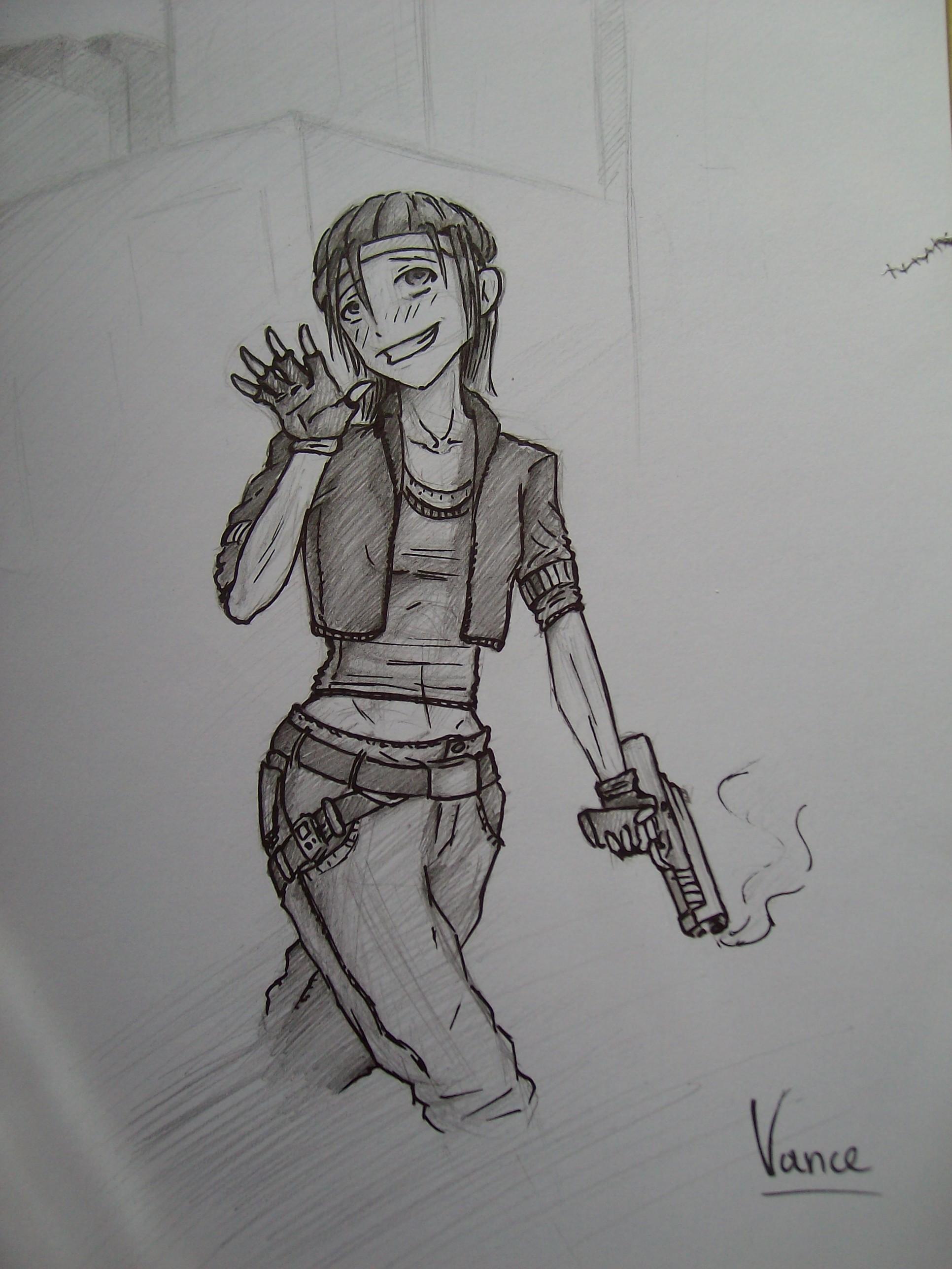Sketch - Vance