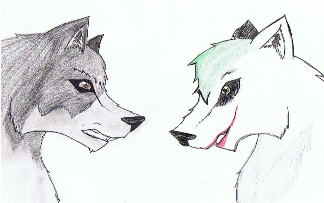 Batwolf and the Joker!