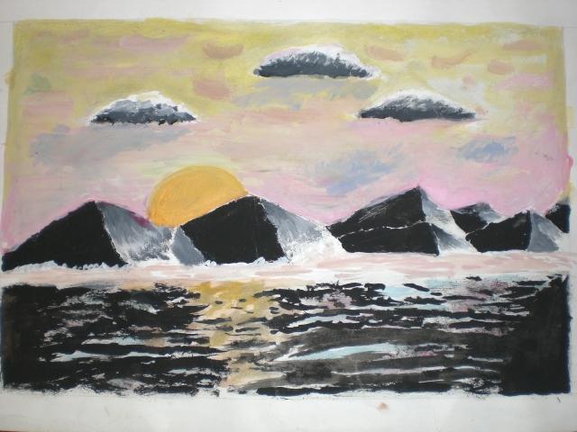 """""""Sunset Ocean"""""""