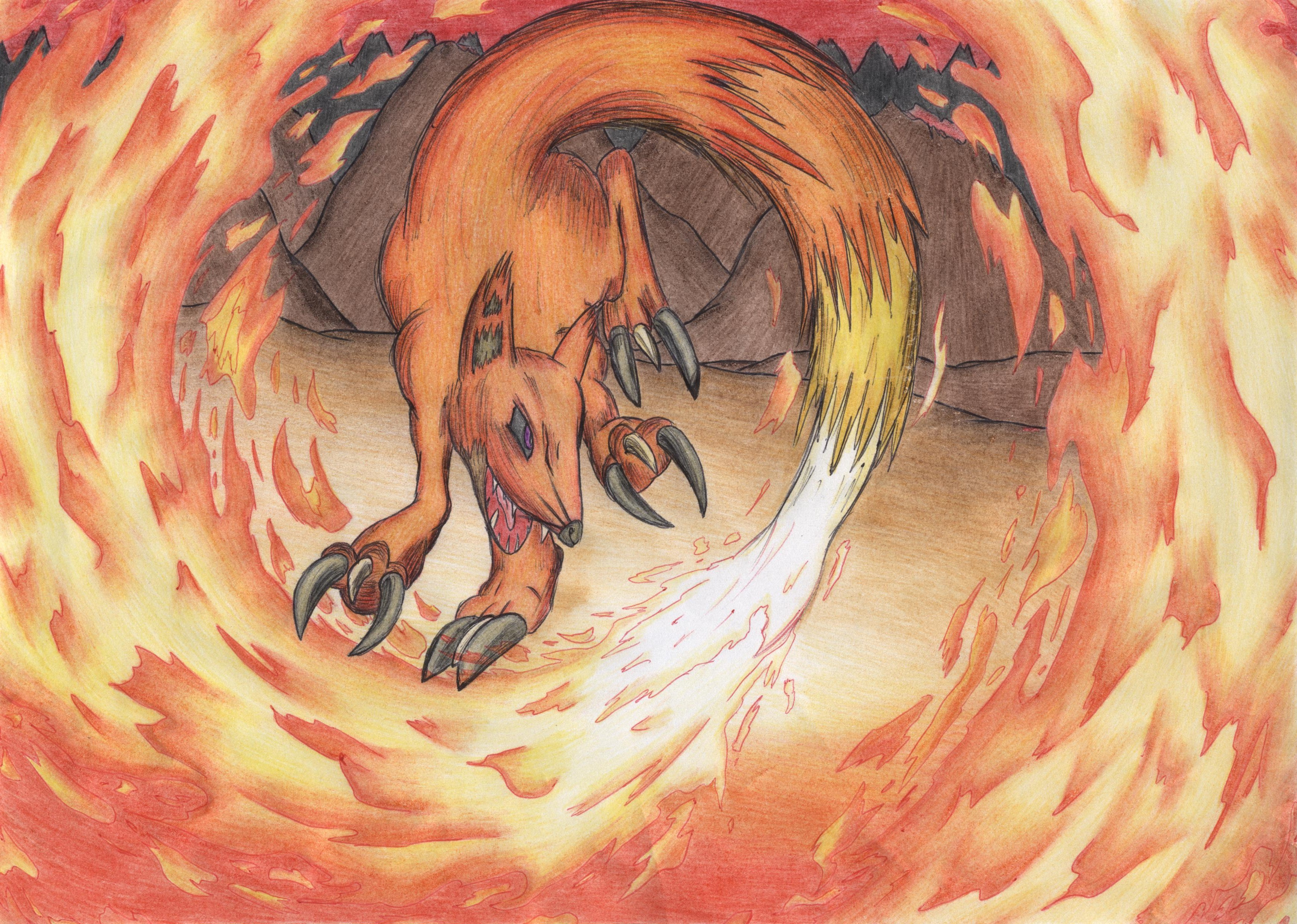 Engwulf: Incinerating Fire Fox