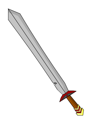 Simple Sword Drawing