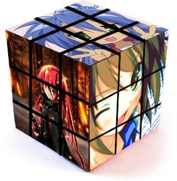 Anime Rubix Cube