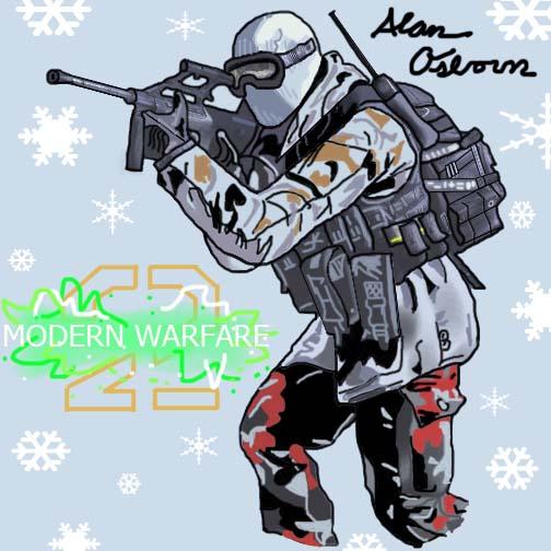 COD MW2 Snow Soldier