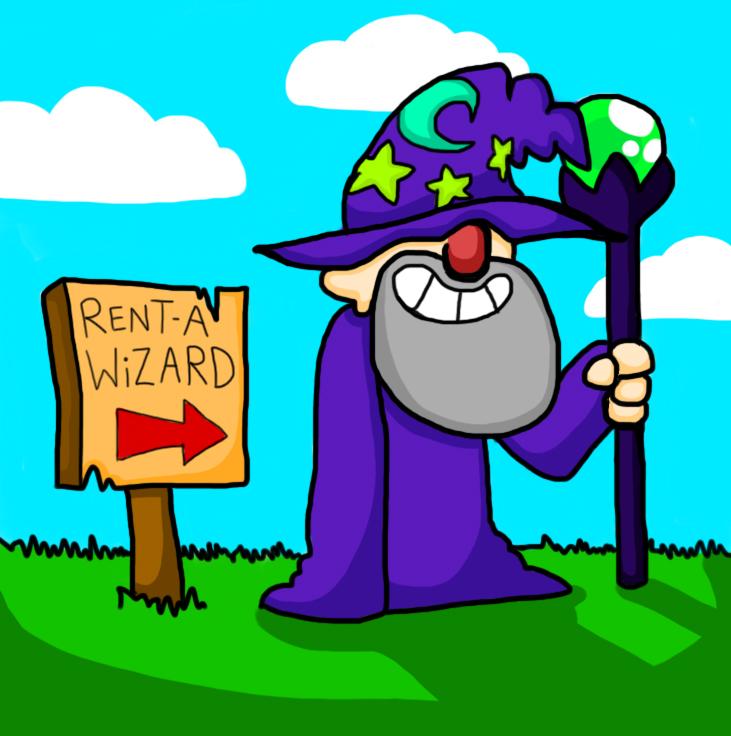 Rent-A-Wizard