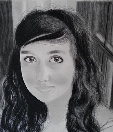 Pencil Portrait Adriana