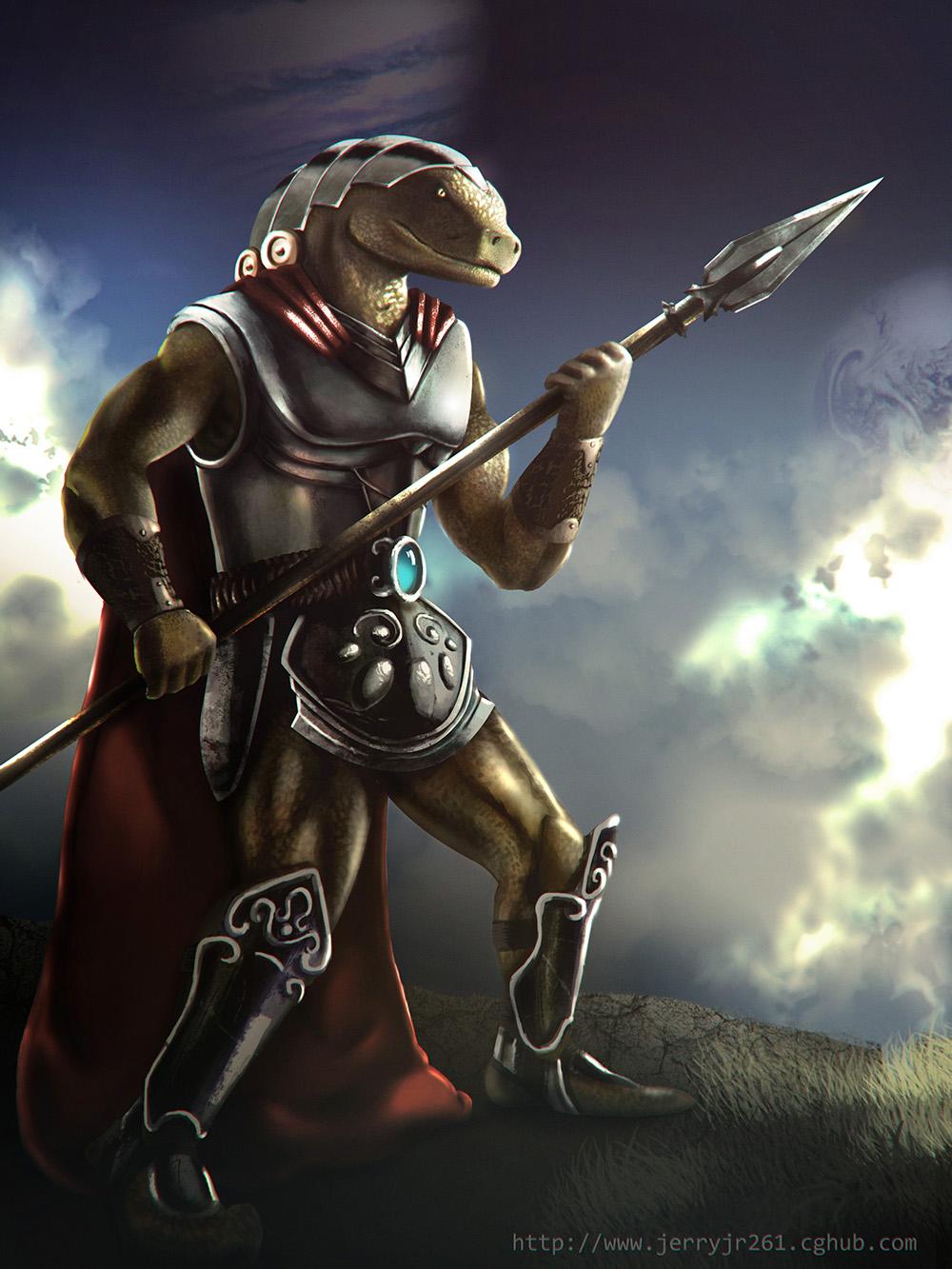 half lizard