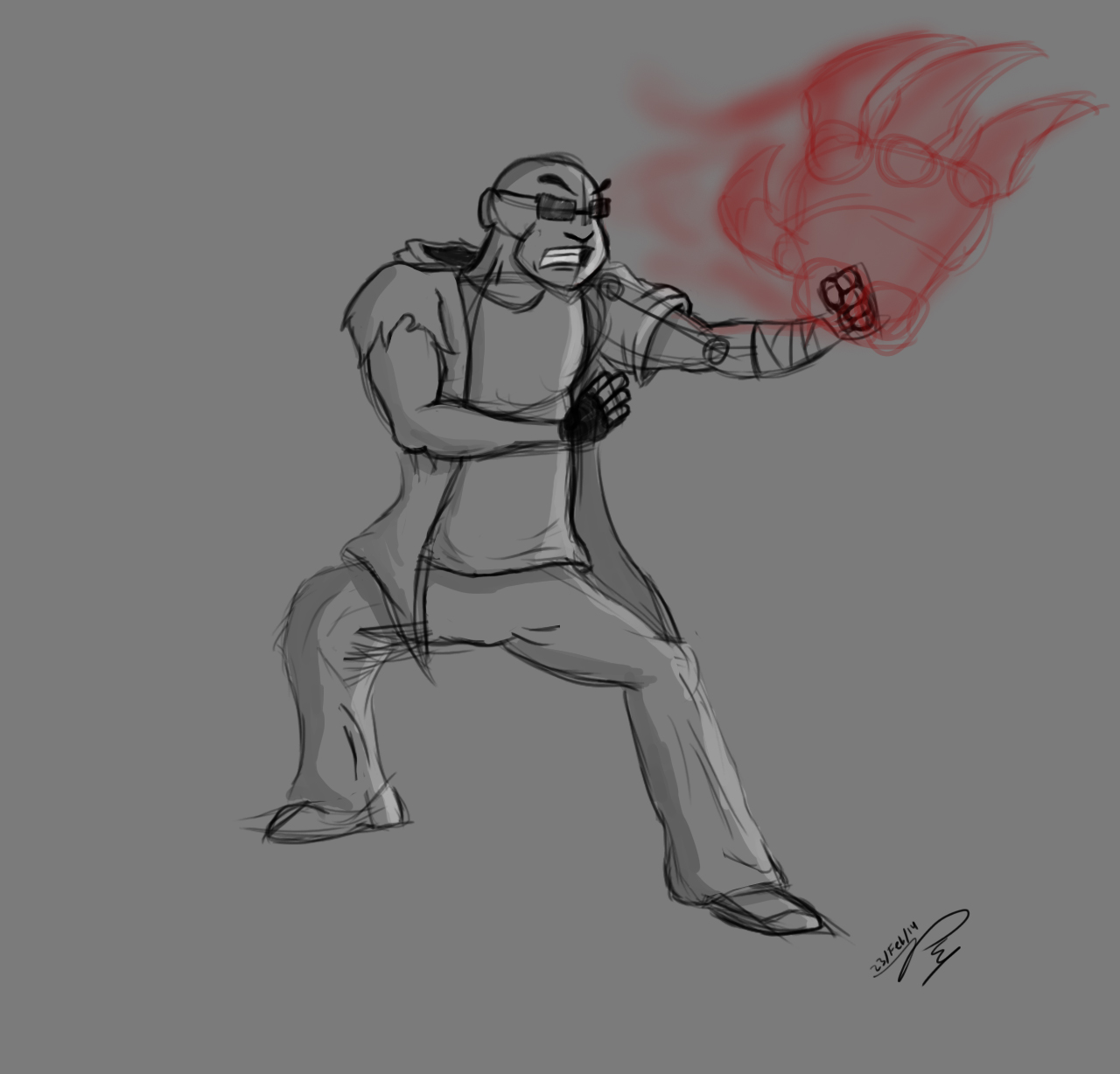 The Guy with the Oni Hands