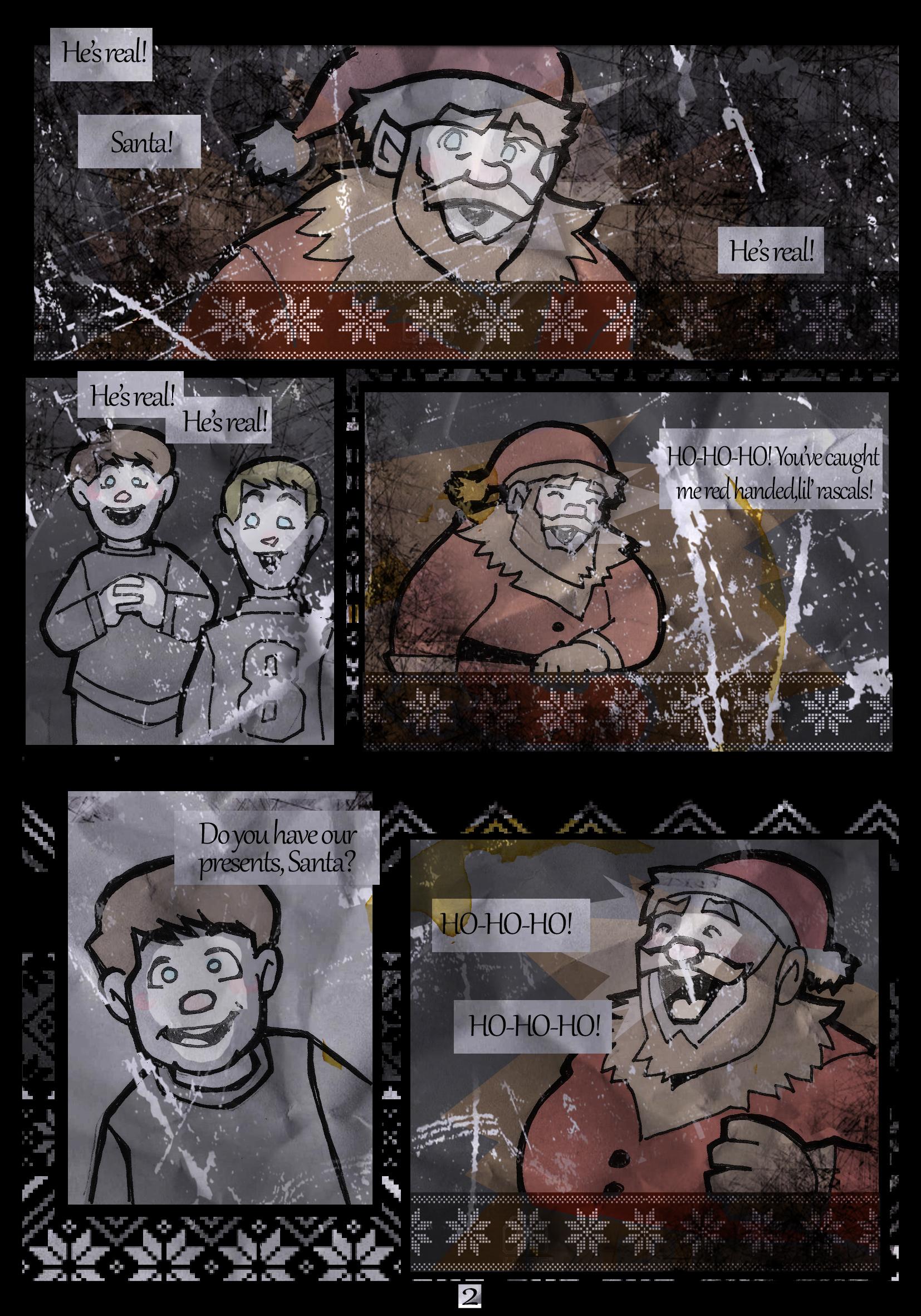 Santa is Real - Page 2