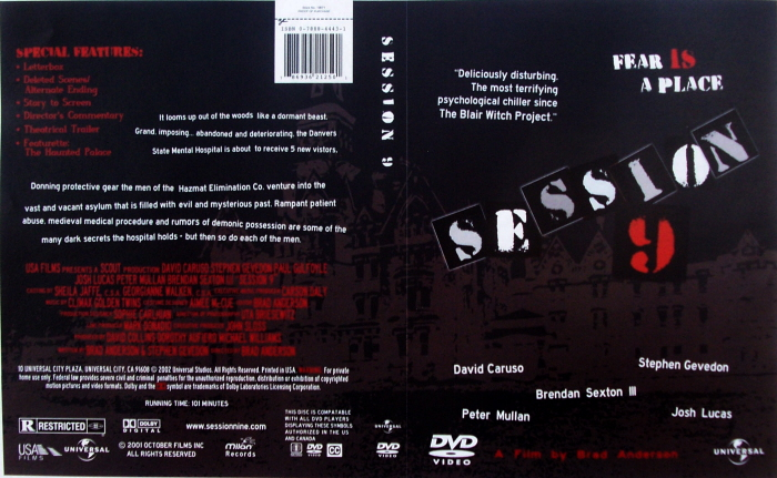 Session 9 DVD redesign