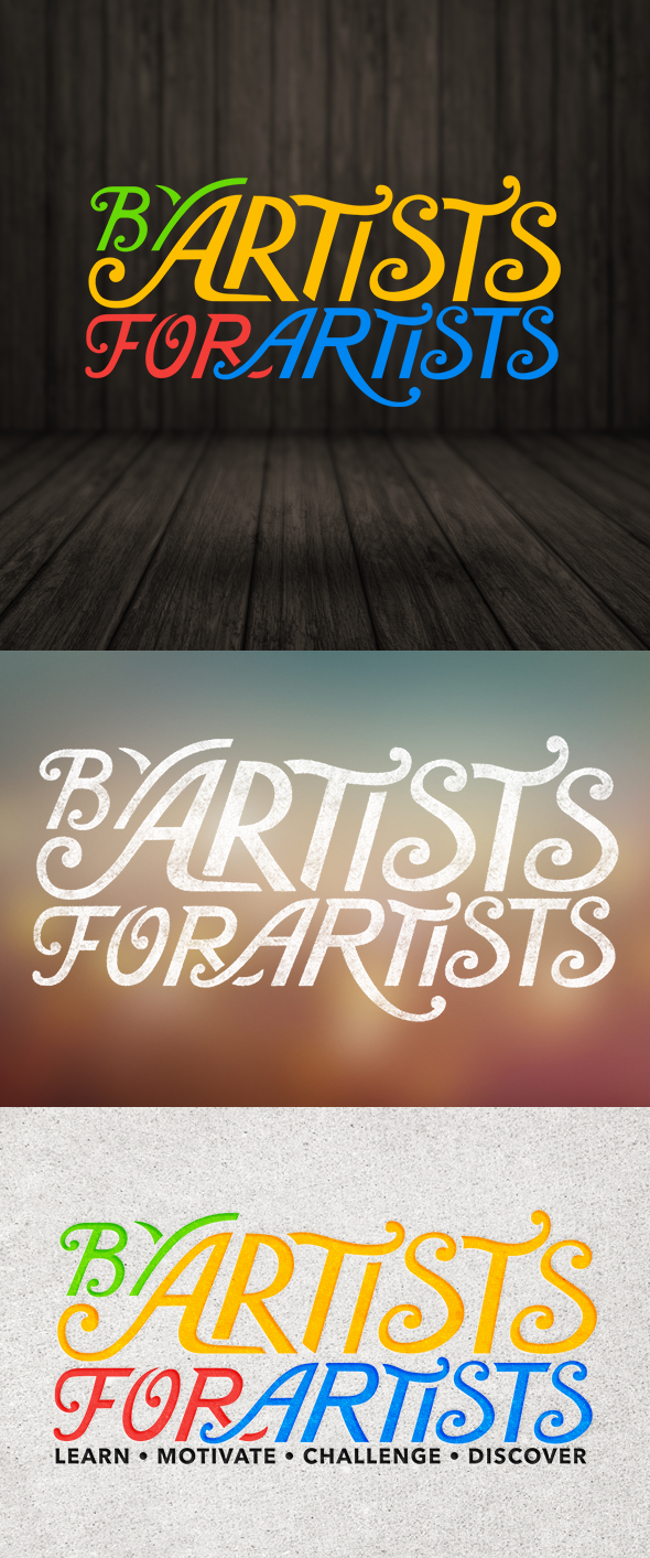By Artist For Artist Logo