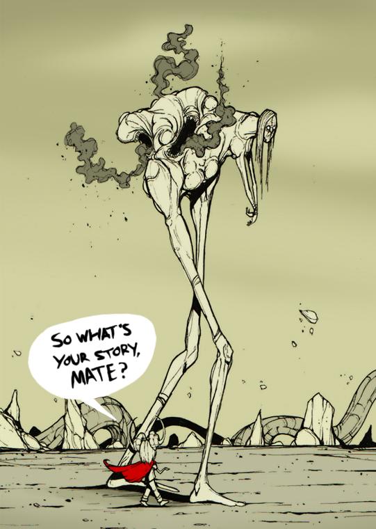 Plague Walker's Story