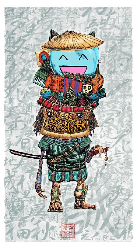 Japan image postcard