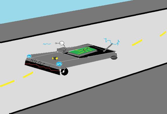 drone car concept art