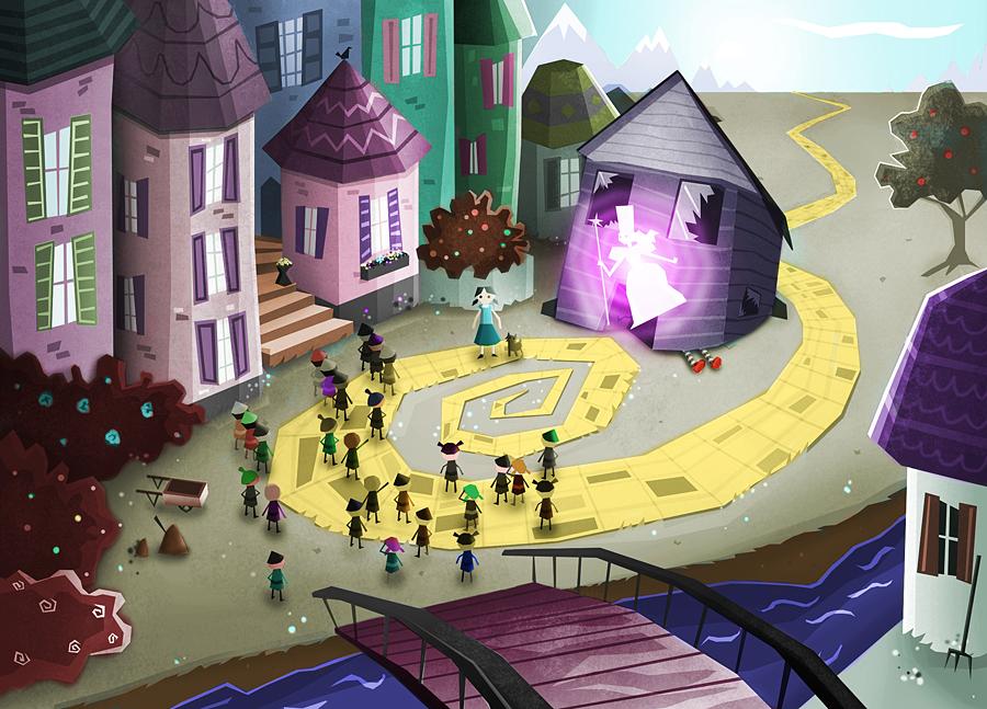 """""""Wizard of Oz"""" Concept 2"""