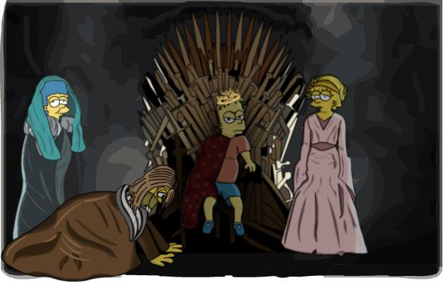 Throne Of Simpsons