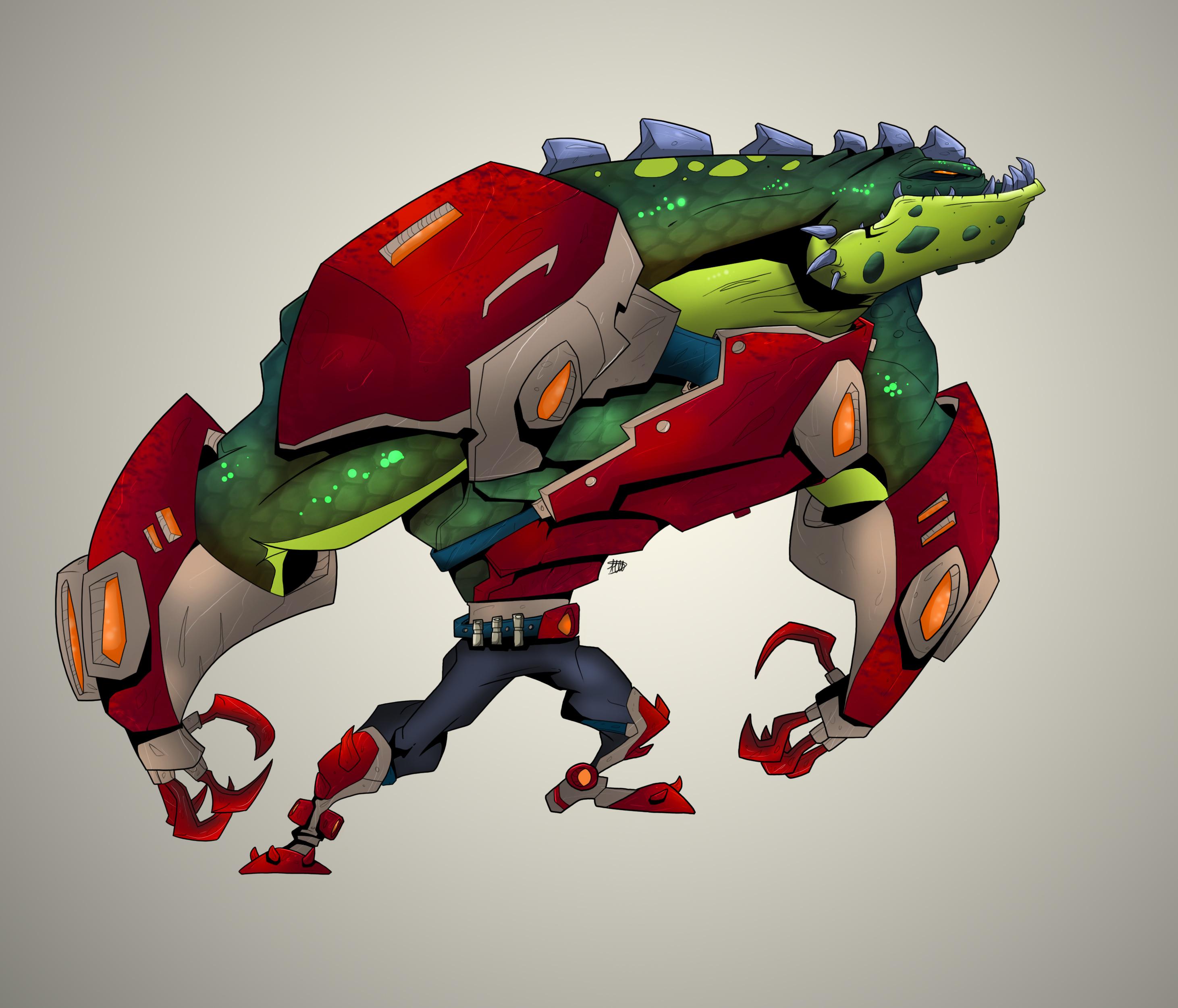 Space Alligator