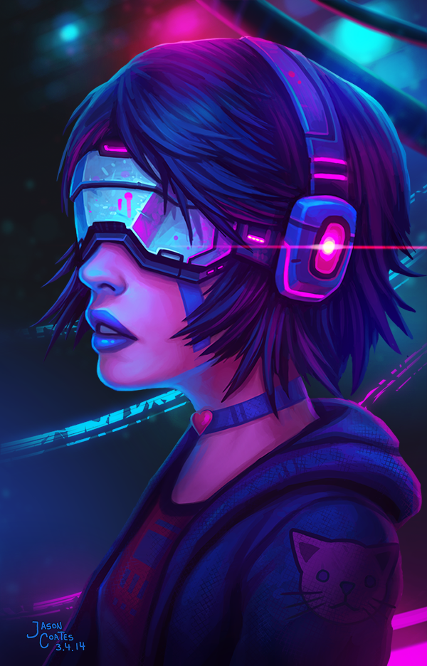 Timelapse Video: CyberPunk