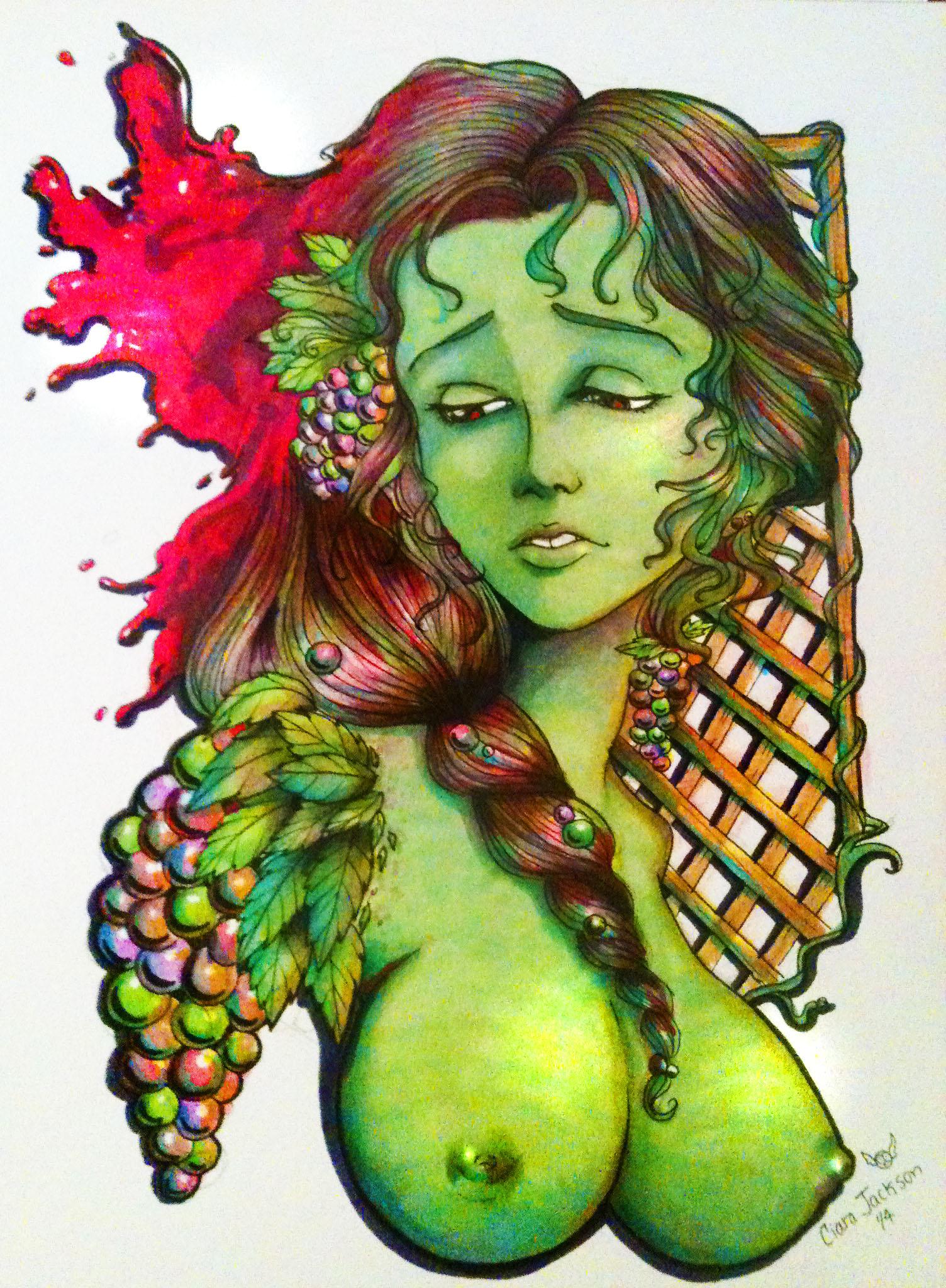 Queen of the Vineyard