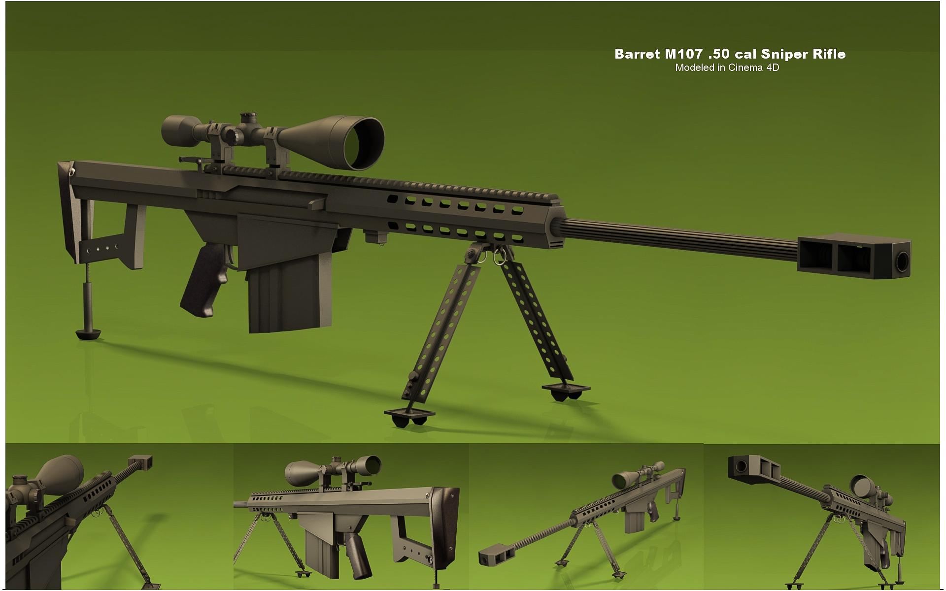 Barret .50CAL Sniper Rifle