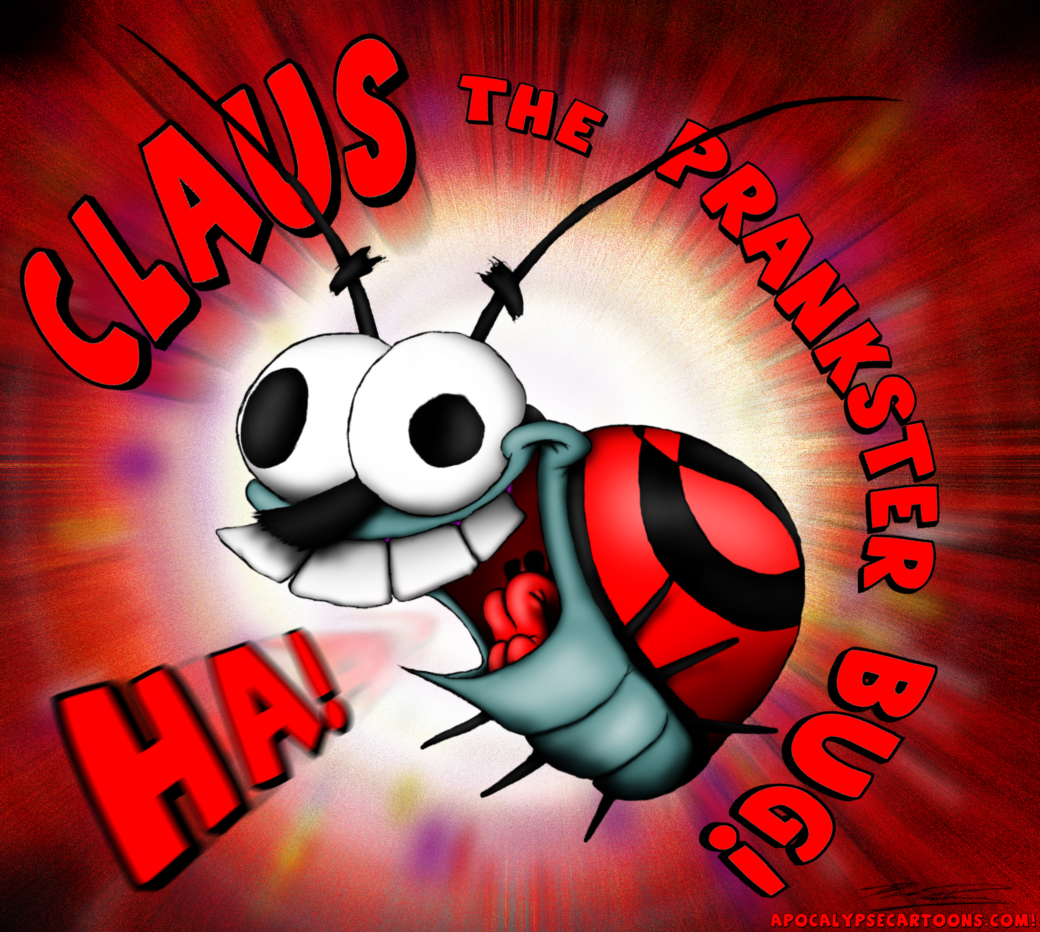 Claus the Prankster Bug!