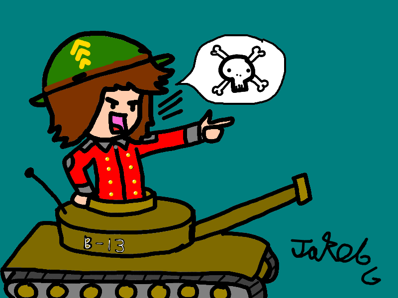 B-13 Tank Attack!!
