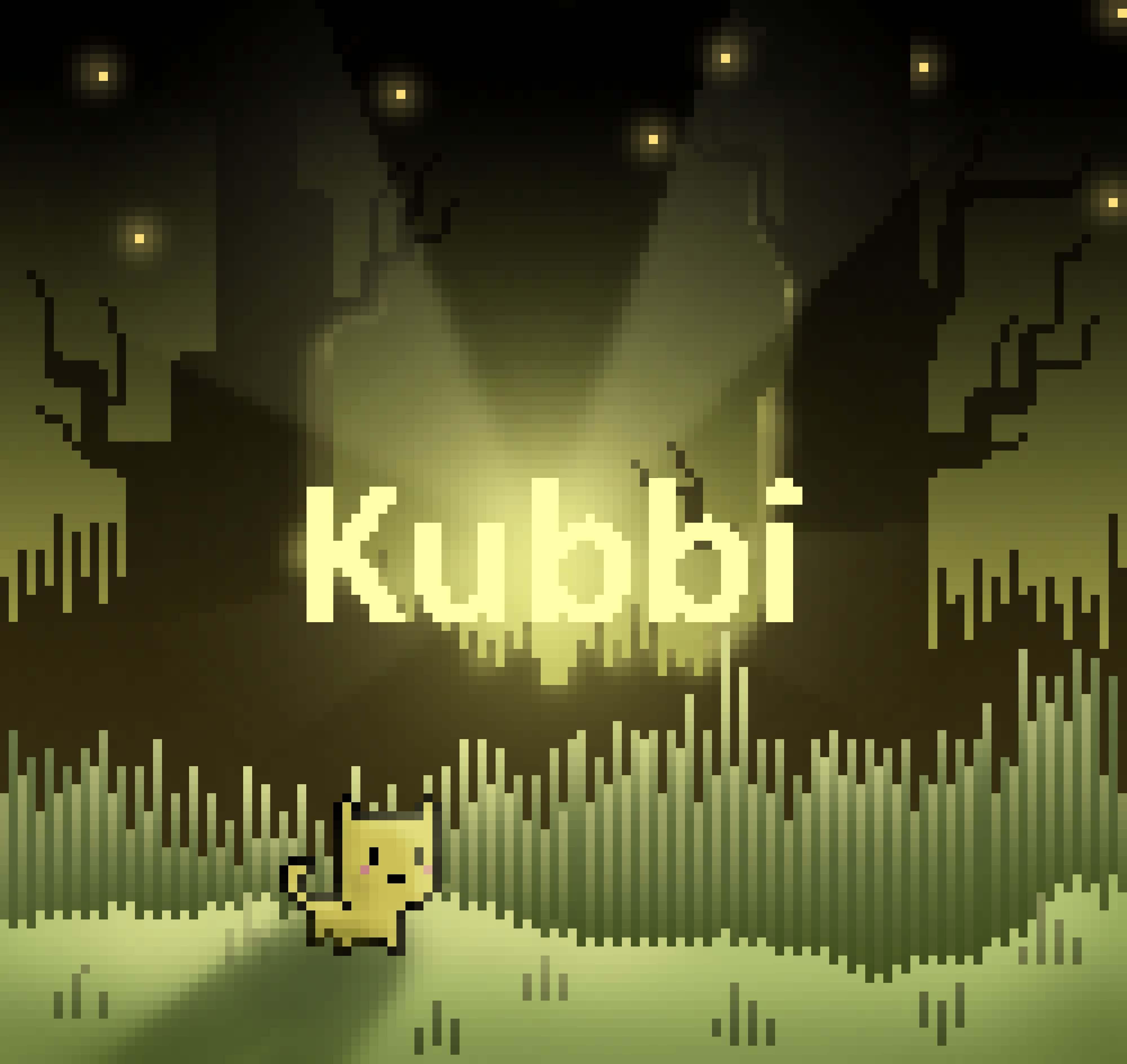 Kubbi in the woods
