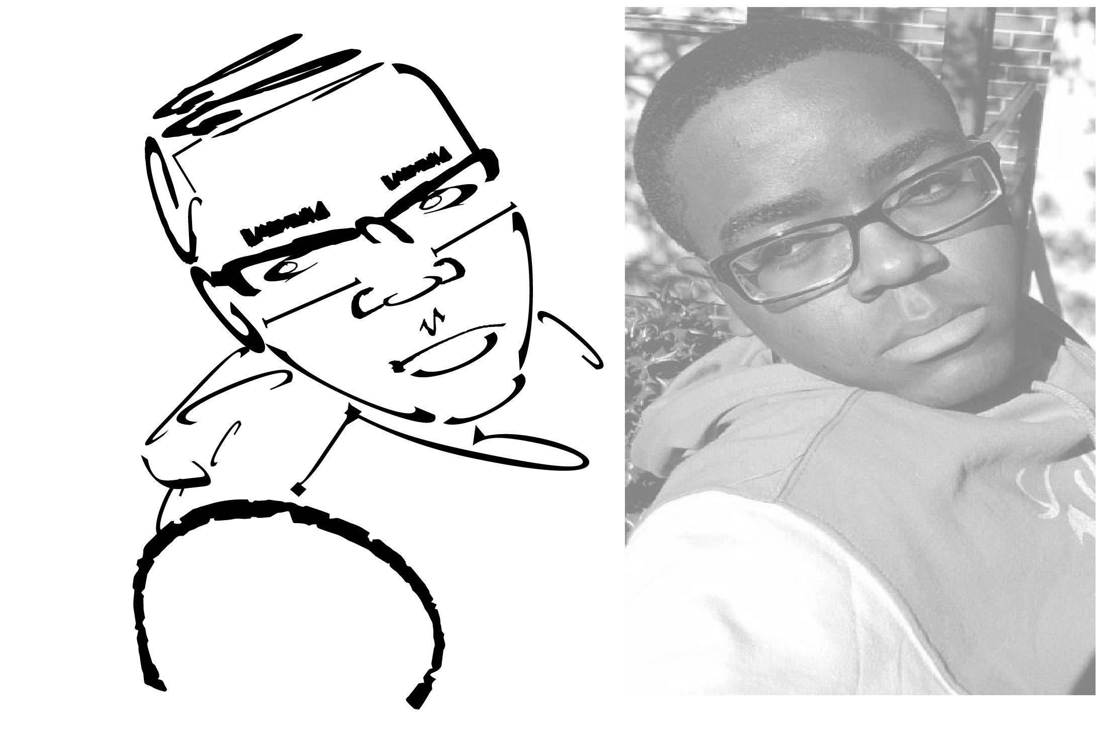 Typographic Self Portrait 1