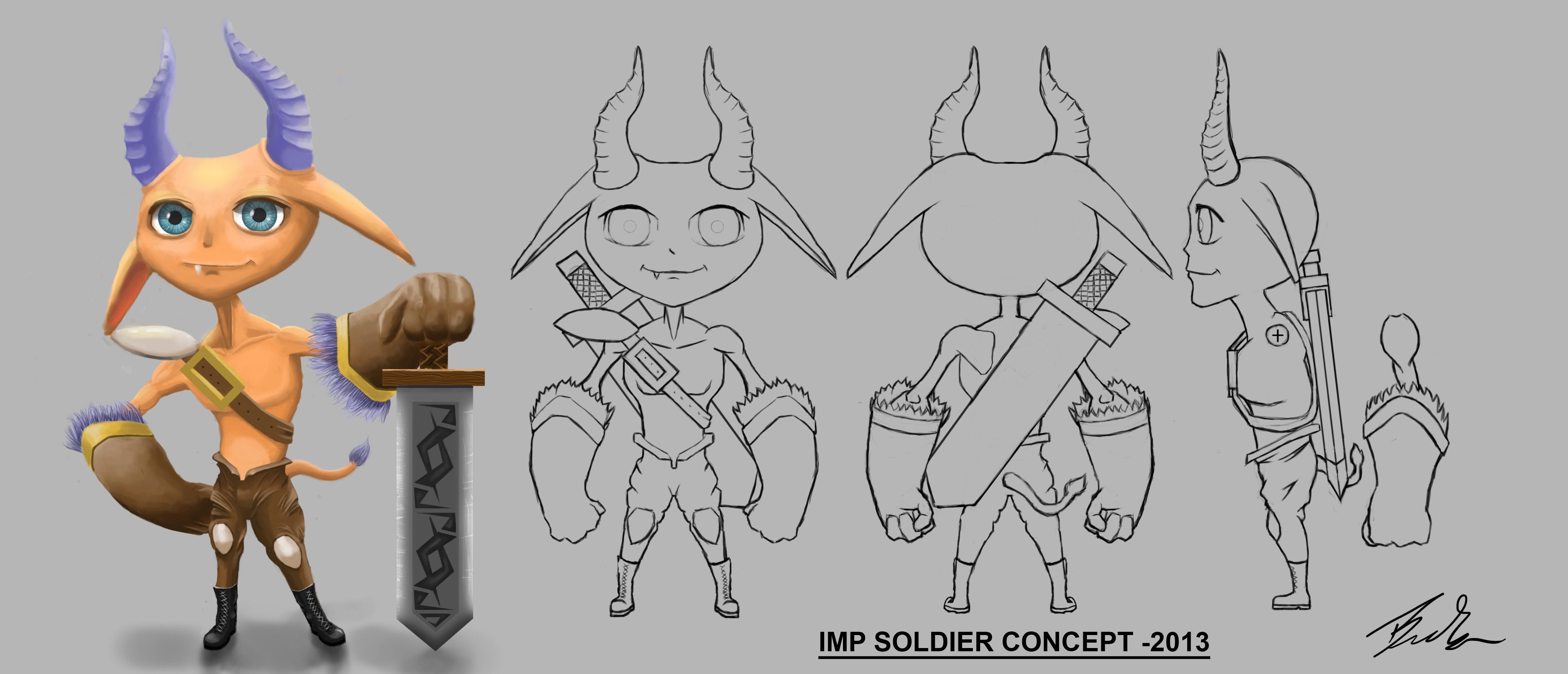 Imp soldier concept