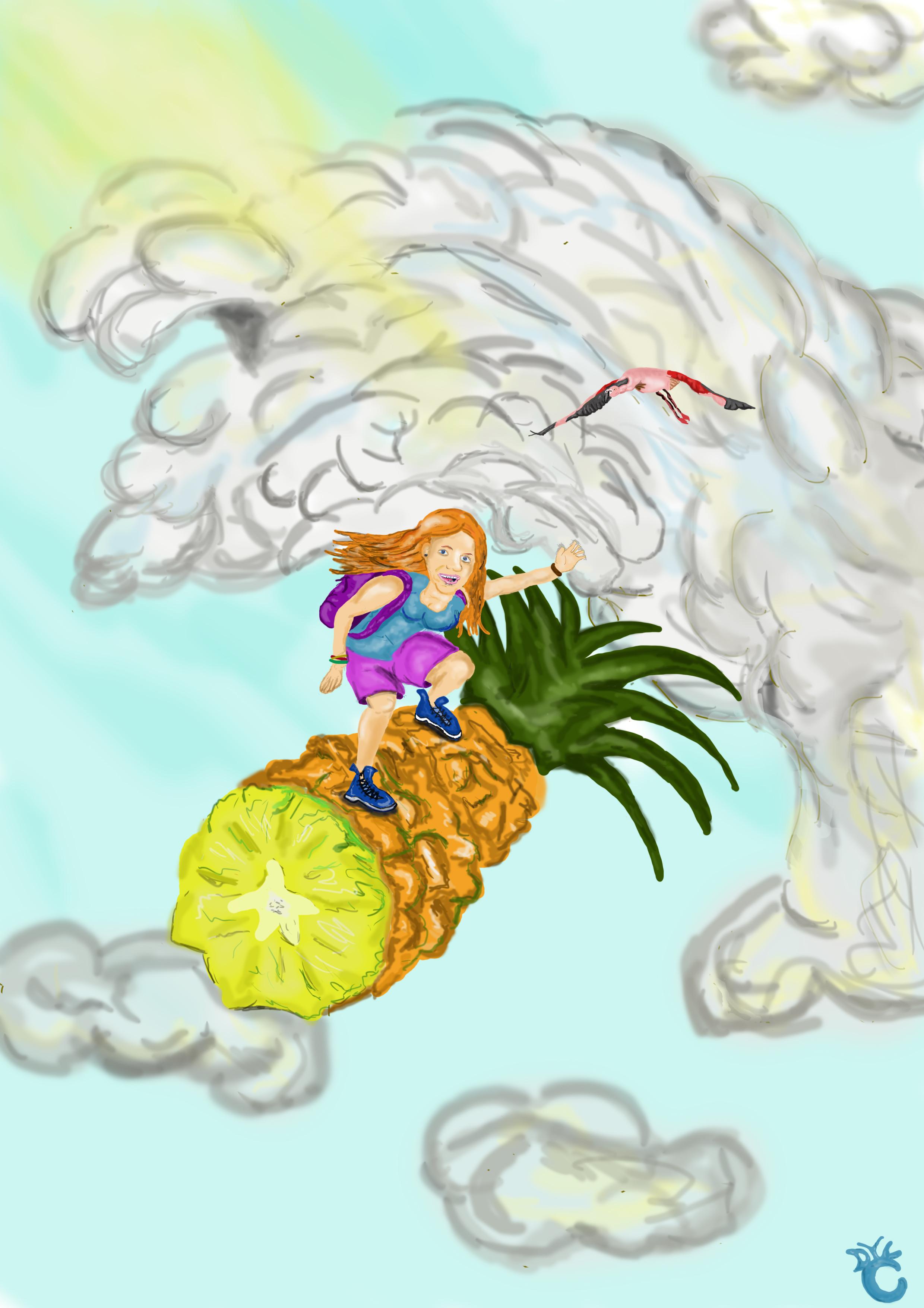 Flying Pineapple