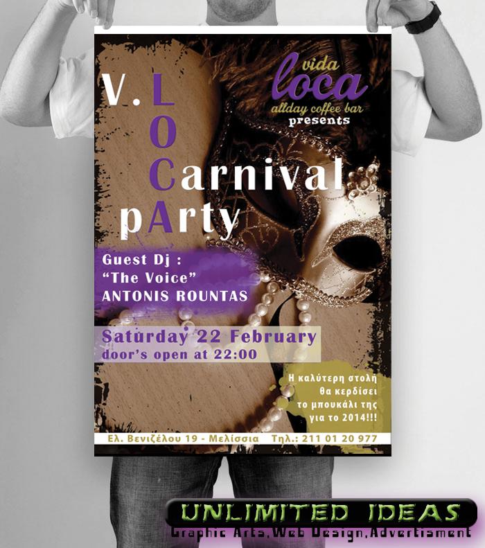 Carnival Party Vida Loca