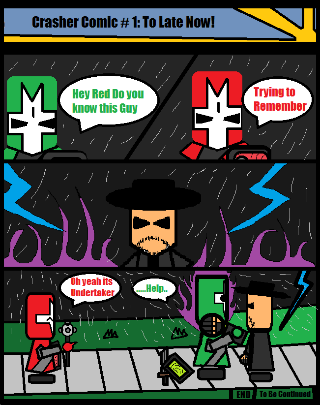 Castle Crasher Comic#1:To Late