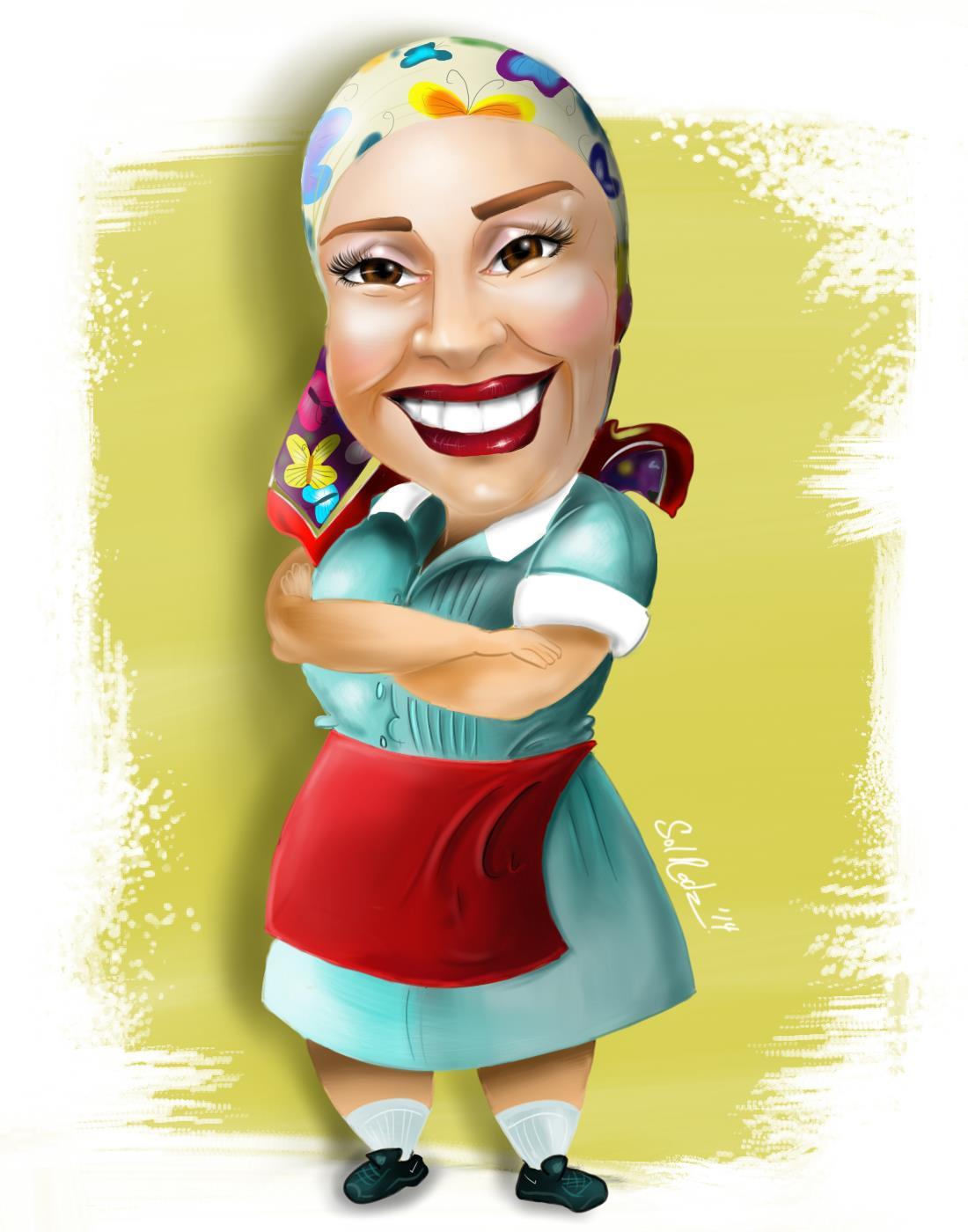 Hispanic Comedian Altagracia