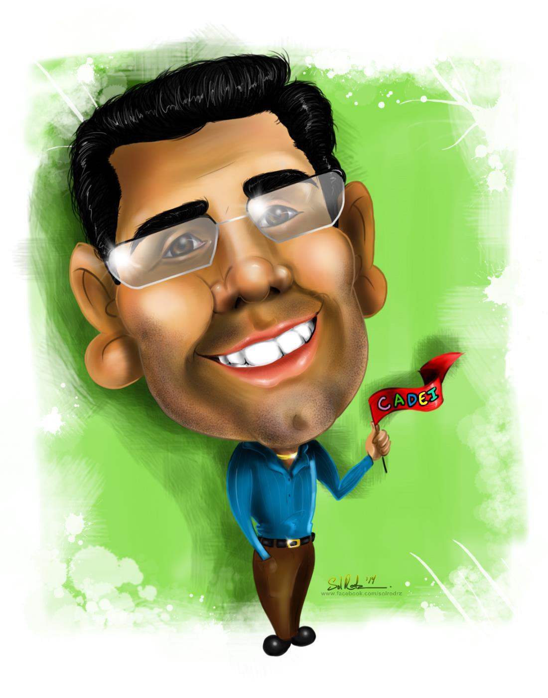 Dr. Colon Caricature