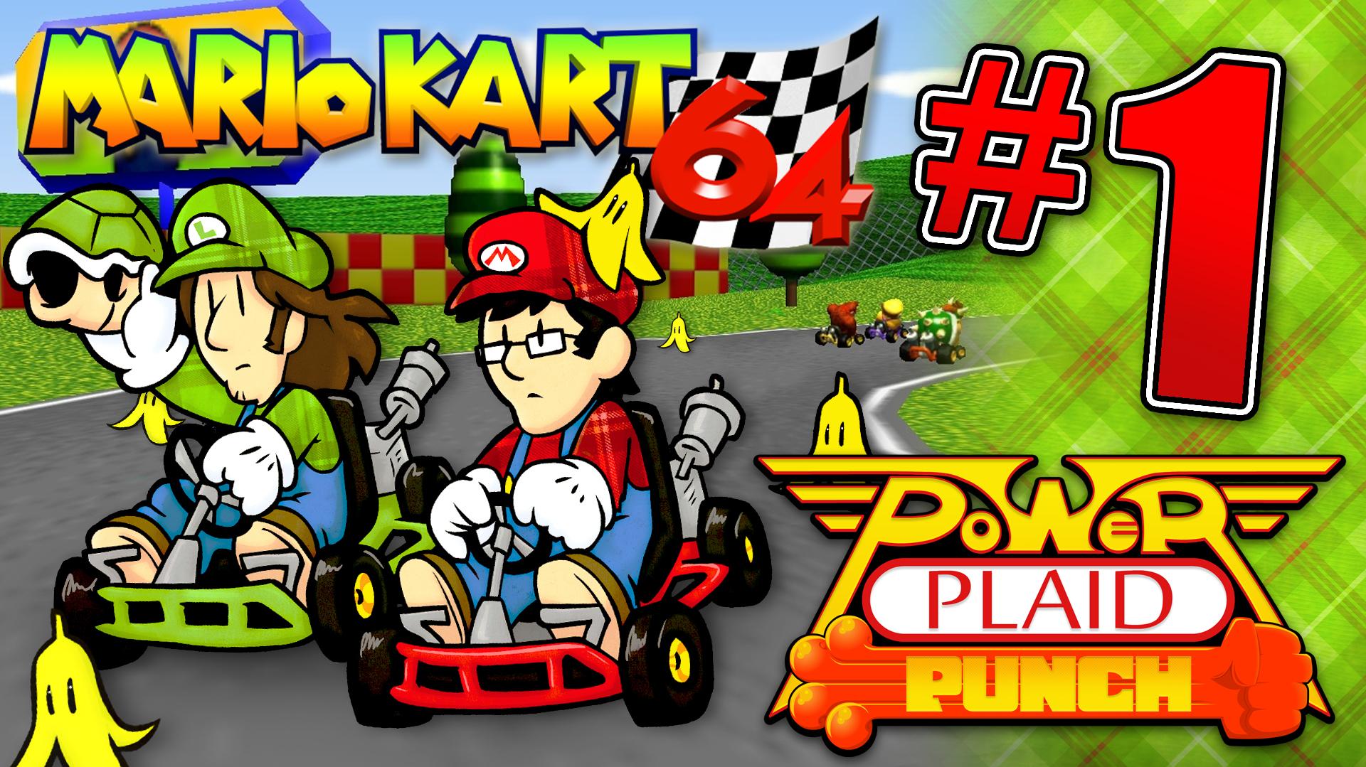 Power Plaid- Mario Kart 64