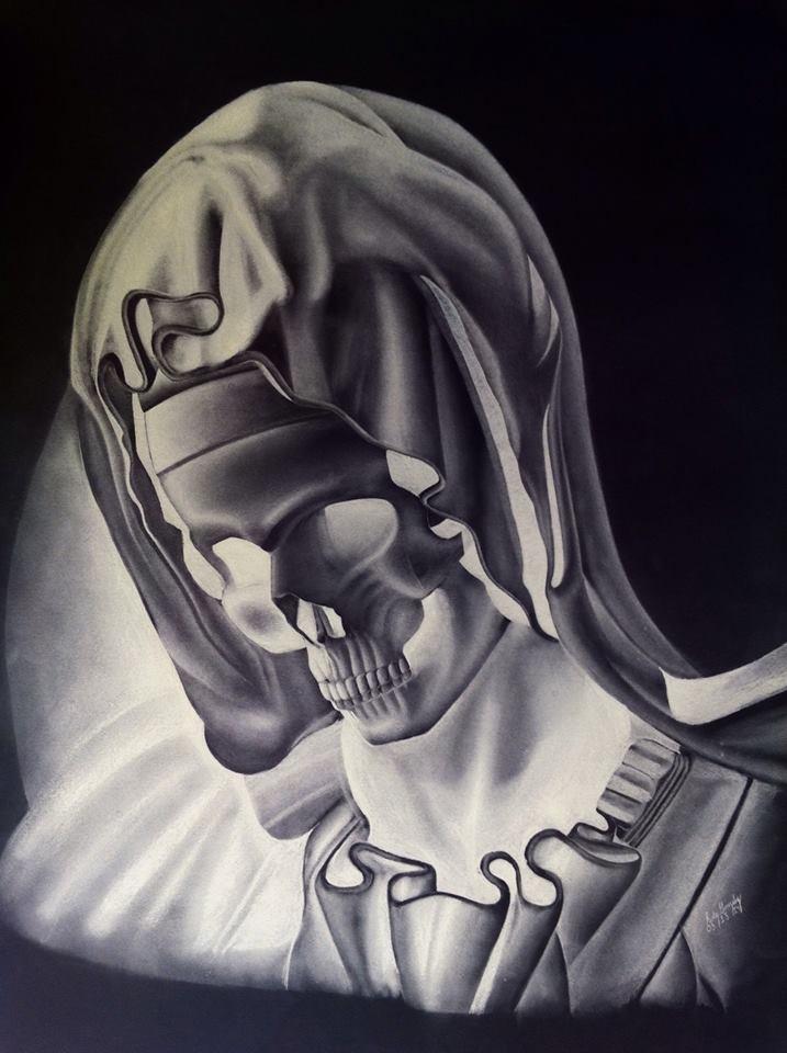 la pieta skull