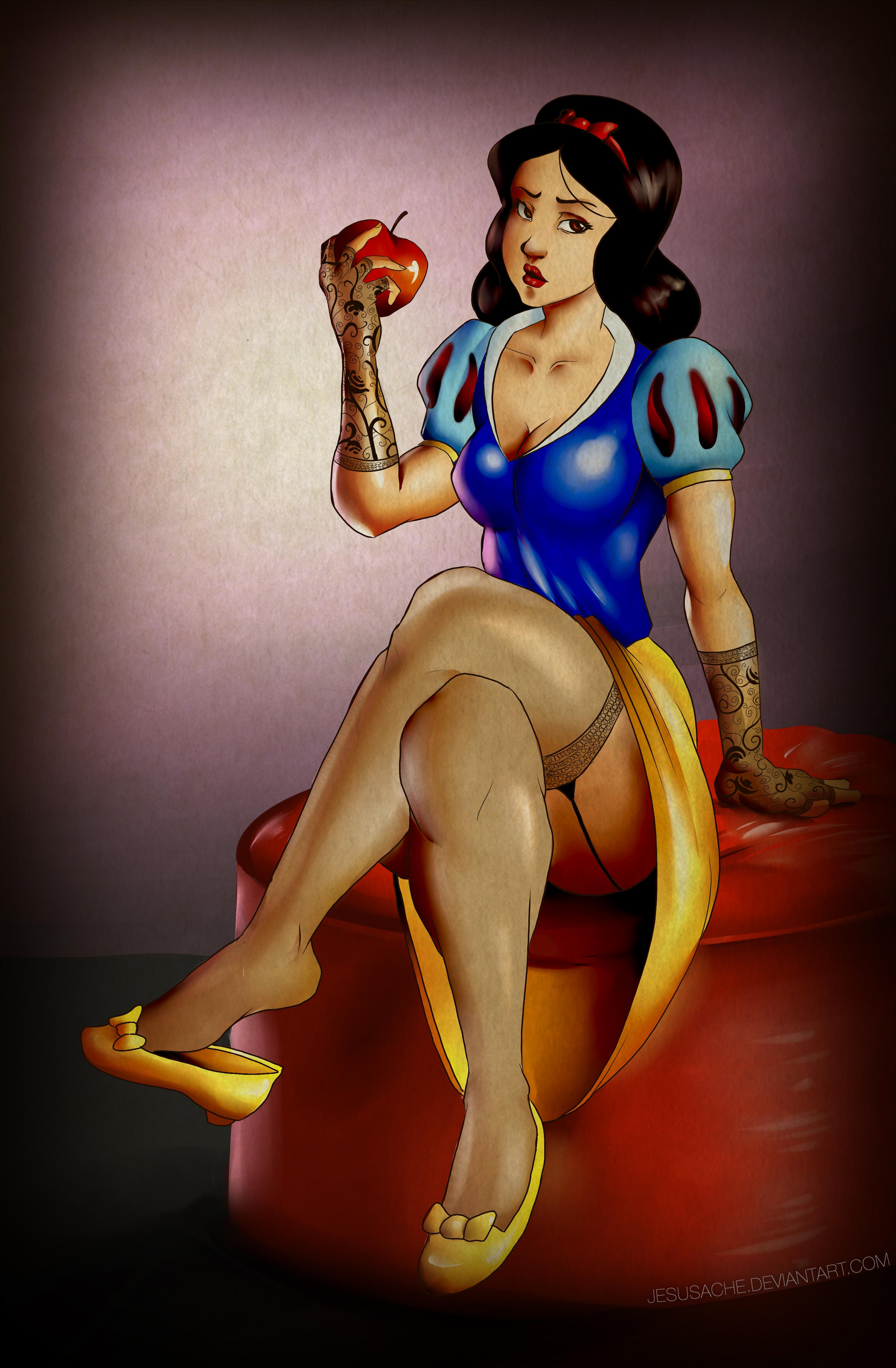 Snow White Pin-up
