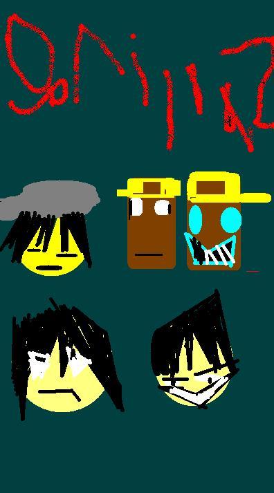 Gorrilaz MIX ART STYLE!!!