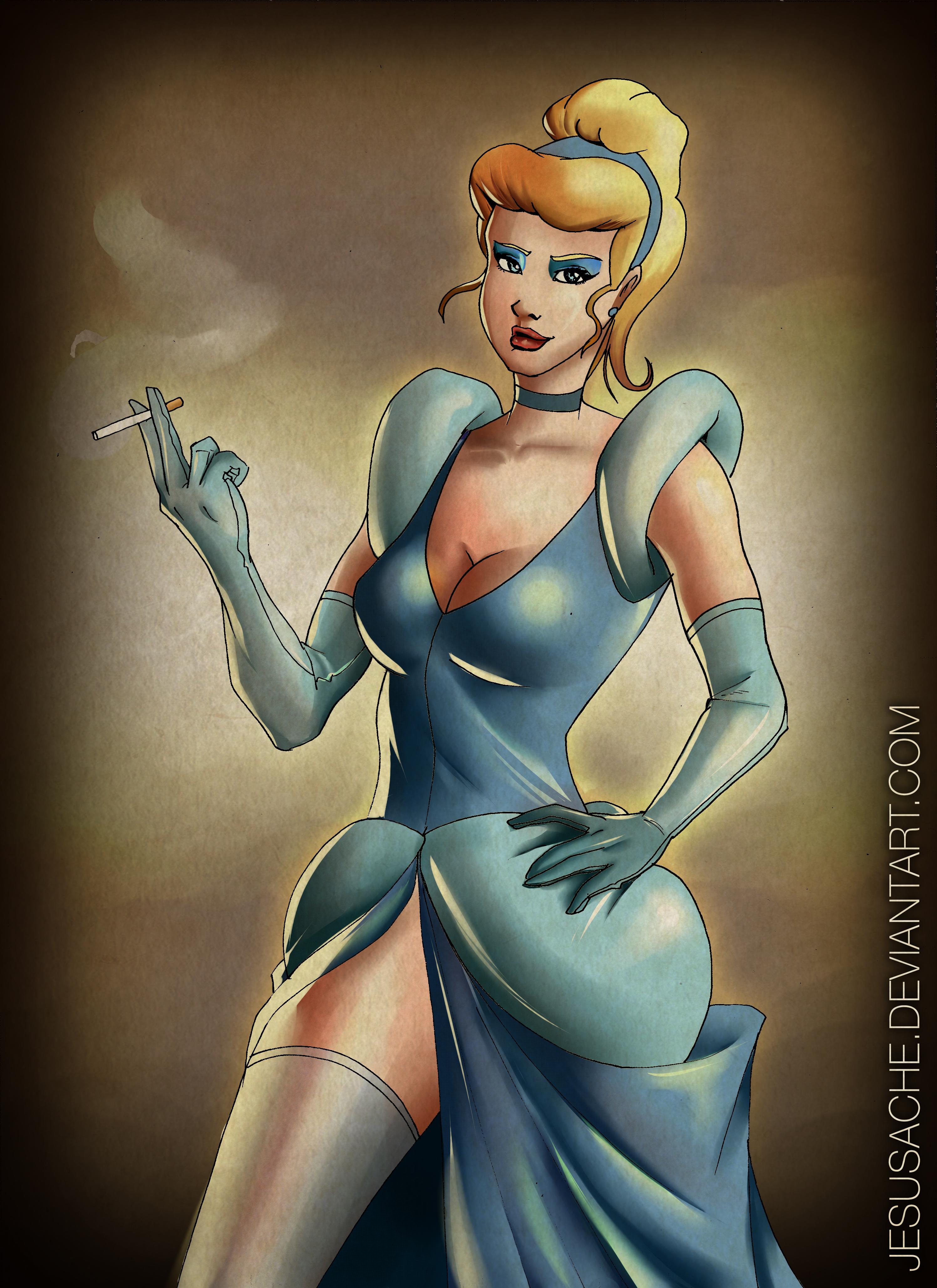 Cinderella Pin-up