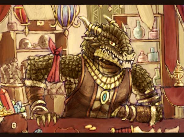 Lizard Merchant