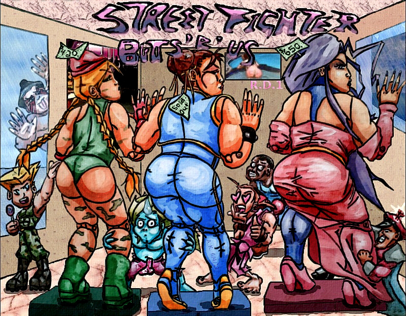 "StreetFighter Butts""R""Us"