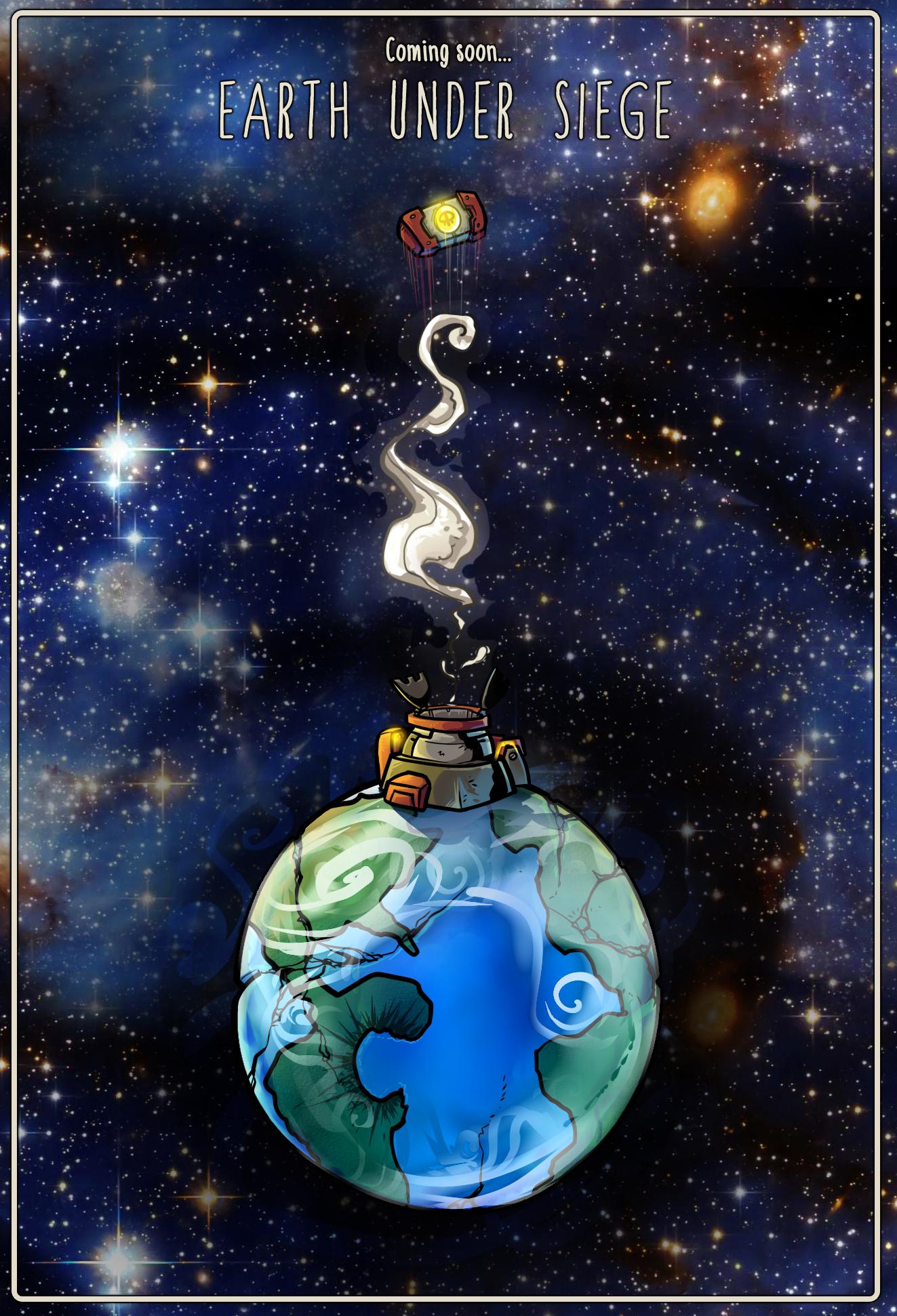 Earth Under Siege - Fanart