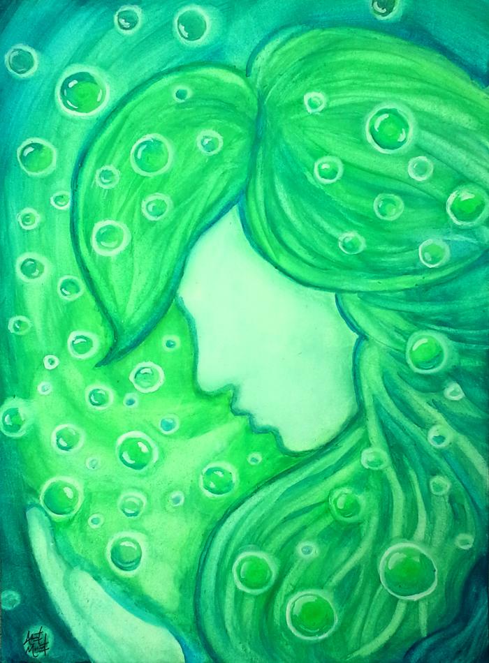Unterwasserschimmer