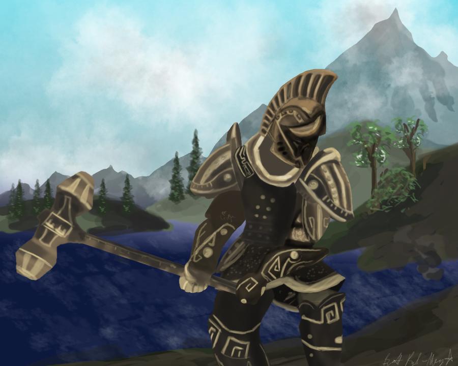 Skyrim Roman-Style Armor