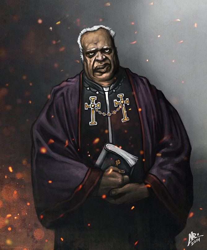 the Black Priest