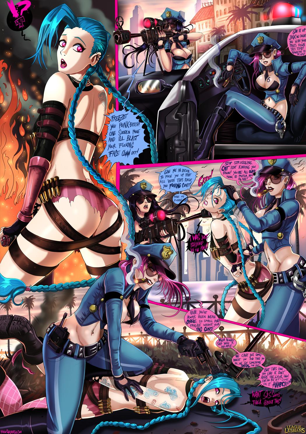 League of Lesbians: Page 3