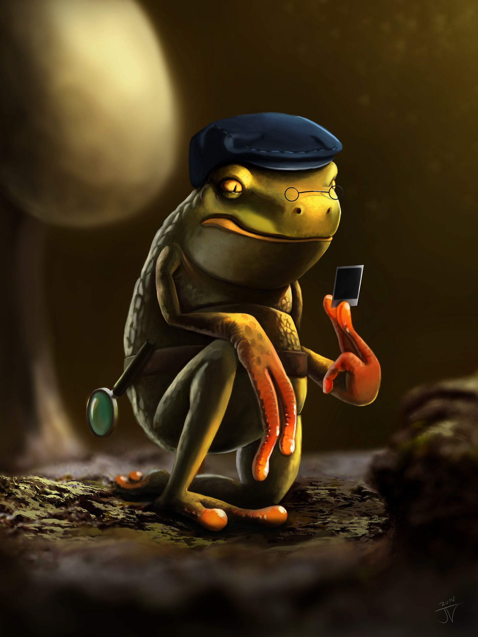 Detective Toad