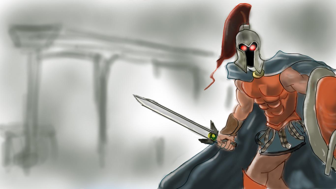 PATHEON, WITH SWORD