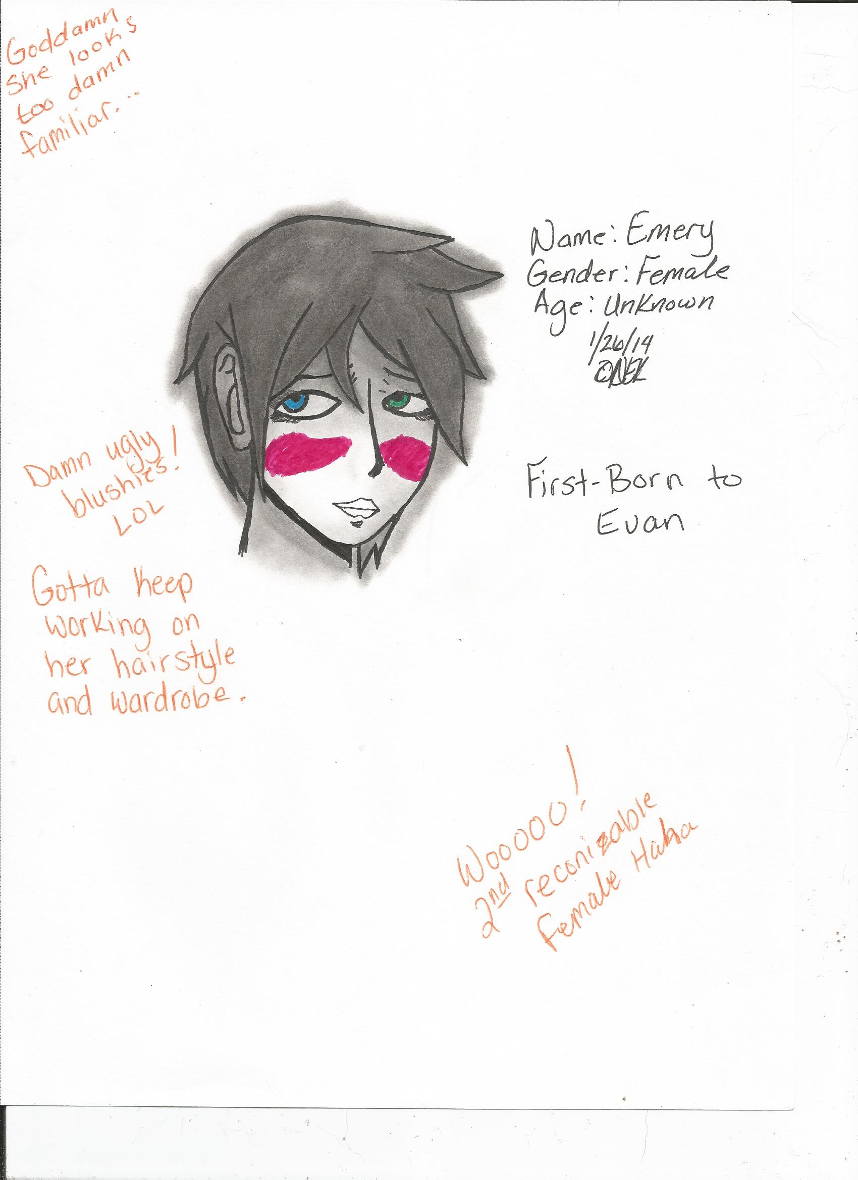 Emery Face Concept (Old)
