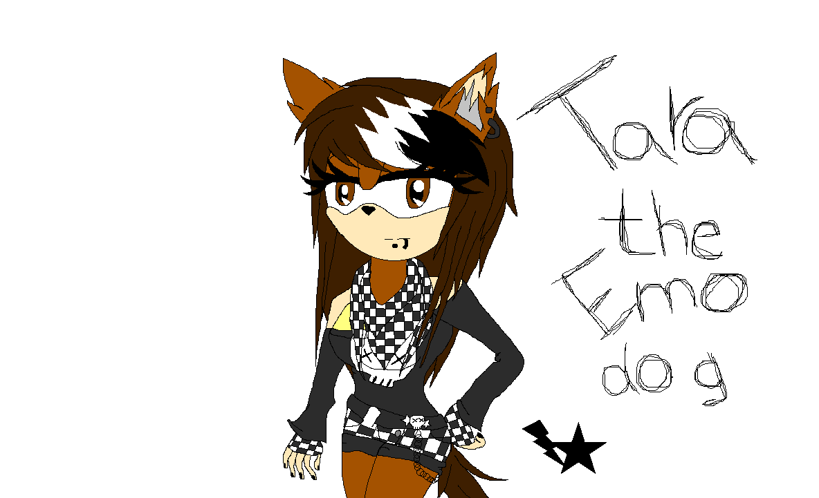 Tara the Emo dog